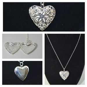 Jewelry - NWOT Sterling silver locket